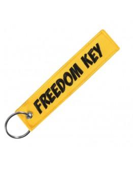 "Breloc moto textil ""Freedom Key"""