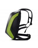 Ghiozdan/rucsac impermeabil aerodinamic moto hardshell Moto Corner Verde