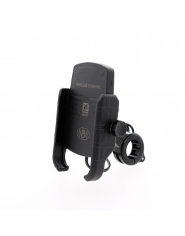 Suport telefon moto cu incarcator wireless