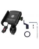 Suport telefon moto cu incarcator fast charging Quick charge 3.0